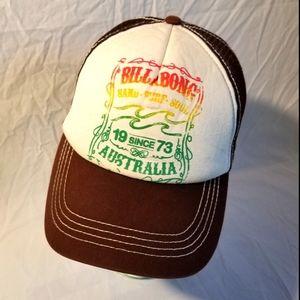 Billabong trucker snapback hat